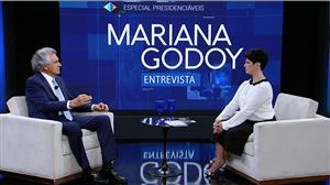 Mariana Godoy recebe o presidenciável Ronaldo Caiado (DEM) - Íntegra