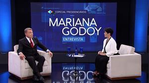 Mariana Godoy recebe o presidenciável Álvaro Dias (Podemos/PR) - Íntegra