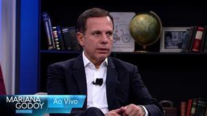 """""""Mariana Godoy Entrevista"""" recebe João Doria nesta sexta-feira (17)"""