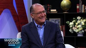 """""""Mariana Godoy Entrevista"""" recebe Geraldo Alckmin nesta sexta (1º)"""