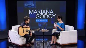 Mariana Godoy recebe o cantor Daniel - Íntegra