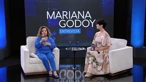 Mariana Godoy recebe a cantora Ângela Maria - Íntegra