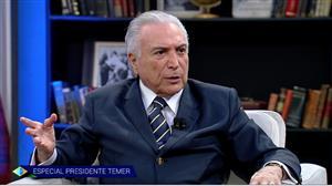 Trump sugeriu reunião entre empresários brasileiros e americanos, diz Temer