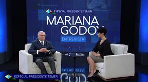 Íntegra da edição especial do Mariana Godoy Entrevista com Michel Temer