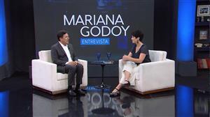 Mariana Godoy recebe Benito Di Paula e Mendonça Filho - Íntegra