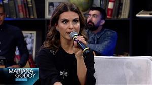 Mariana Godoy Entrevista recebe a cantora Aline Barros