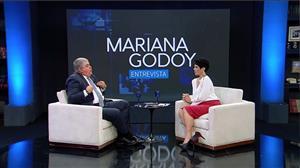 Mariana Godoy recebe Carlos Marun e Ana Clara - Íntegra