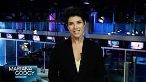 Mariana Godoy Entrevista comemora três anos com Sidney Oliveira e Iza
