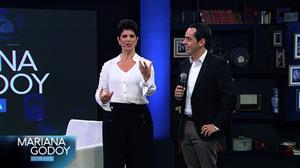 Mariana Godoy entrevista Fulvio Stefanini e Agnaldo Rayol nesta sexta (1)