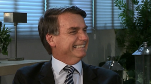Mariana Godoy Entrevista recebe o pré-candidato Jair Bolsonaro