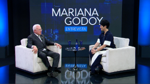 Mariana Godoy recebe Roberto Mangabeira Unger e Reinaldo Kherlakian