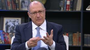 "Alckmin nega ser candidato do 'establishment': ""Sou o candidato da mudança"""