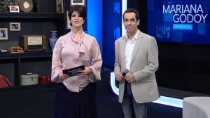 Mariana Godoy Entrevista recebe Stepan Nercessian e Thiago Martins