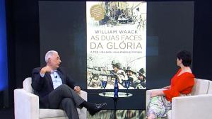 William Waack relembra coberturas importantes como repórter internacional