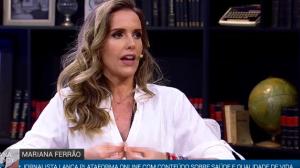 Mariana Ferrão diz que demorou para diagnosticar depressão pós-parto