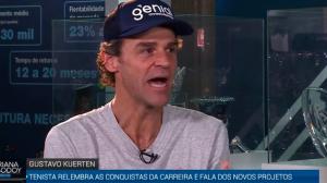 """""""Ter o número 1 no mundo não é o suficiente"""", dispara Guga sobre tênis"""