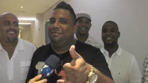 Grupo Clareou 'reclama' da brincadeira de Marcelo de Carvalho