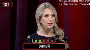 """Erica Reis cita Corinthians ao dar dica da palavra """"gambá"""""""