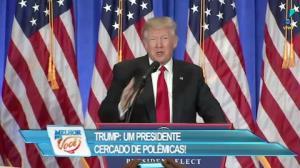 "Zucatelli sobre Trump: ""Com poder da caneta a coisa muda"""