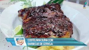 Edu Guedes ensina receita de costelinha com barbecue e cerveja