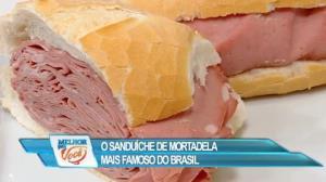 Culinária do Edu ensina a fazer famoso sanduíche de mortadela