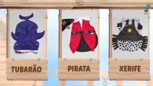 Público escolhe fantasia de tubarão para Paçoca