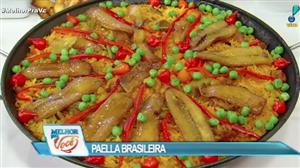 Culinária do Edu ensina a fazer paella brasileira