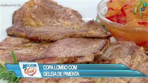 Edu Guedes ensina receita de copa lombo com geleia de pimenta