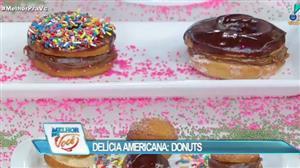 Edu Guedes ensina receita do tradicional doce americano: donuts
