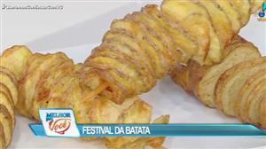 Edu Guedes promove Festival da Batata