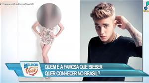 Justin Bieber quer conhecer famosa no Brasil