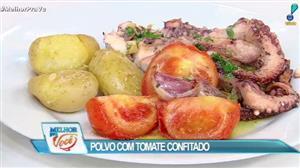 Culinária do Edu ensina receita de polvo com tomate confitado