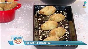 Edu Guedes ensina a fazer bolinho de bacalhau