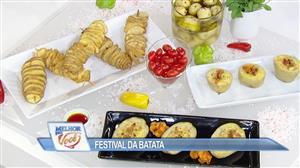 Festival da batata: Edu Guedes ensina diversas formas de preparo