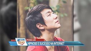 Hipnólogo Pyong Lee demonstra suas habilidades com simpatia e bom humor