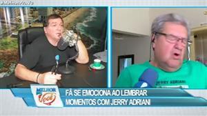 Fã se emociona ao lembrar momentos com Jerry Adriani