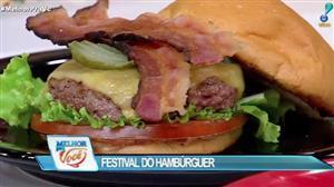 Culinária do Edu promove Festival do Hambúrguer