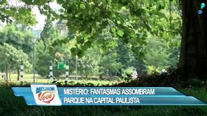 Sensitiva fala sobre fantasma de parque em São Paulo