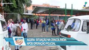"""Polícia faz operação especial na """"cracolândia"""" em São Paulo"""