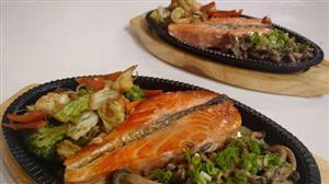 Culinária do Edu ensina receita de salmão grelhado com shimeji