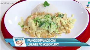 Culinária do Edu ensina receita de frango empanado ao molho curry