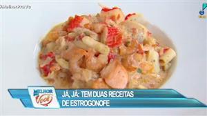 Edu Guedes ensina a fazer estrogonofe tradicional e de frutos do mar