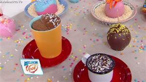 Culinária do Edu ensina receita de bolo de brigadeiro na caneca