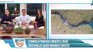 Sertanejo famoso quer mansão de graça