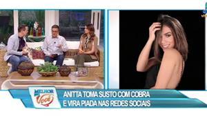 """""""Agora o pessoal não sabe quem é a cobra"""", dispara Vladimir sobre Anitta"""