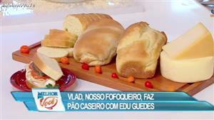Culinária do Edu ensina receita de pão caseiro