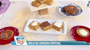Edu Guedes ensina a fazer bolo de cenoura especial