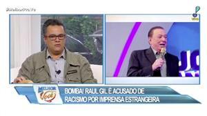 Raul Gil é acusado de racismo por imprensa coreana