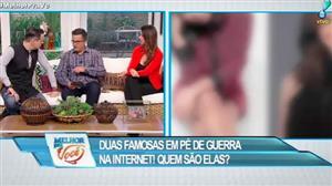 Famosas disputam seguidores na internet