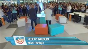RedeTV! inaugura área com integração de ambientes